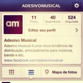 Adesivo Musical